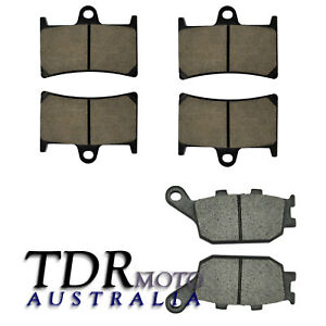 NEW-Front-amp-Rear-Disc-Brake-Pads-for-Yamaha-YZF-R1-YZF-R1-2004-2005-2006