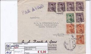 N0005 - Egitto - Lettera Aerea Per Roma