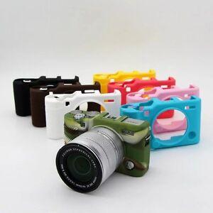Silicone Rubber Bag Cover Case Skin For FujiFilm Fuji X-A3 XA3 XA10 XA-10 Camera