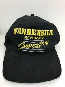 Image is loading Vanderbilt-University-Commodores-Baseball-Cap -Embroidered-SnapBack-OS 7170b0dfafd
