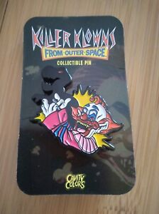 Cavity Colors Killer Klowns From Outer Space Slim Shadow Puppet Enamel Pin