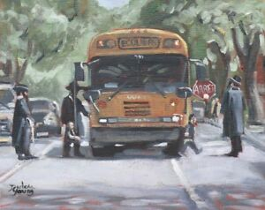 Montreal-Scene-Safe-Passage-8x10-Oil-Darlene-Young-Canadian-Artist