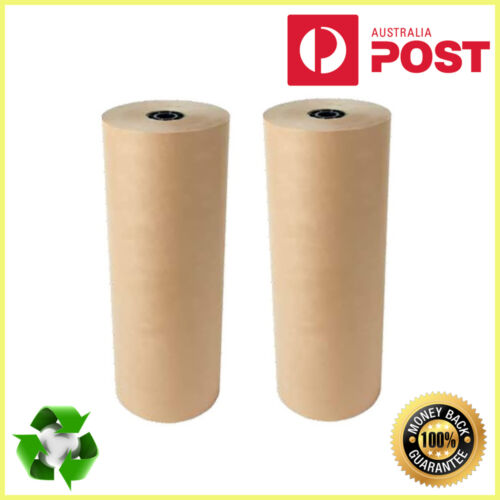 20 x Brown Packaging Kraft Paper Roll 760mm x 10m 70GSM Packing Wrapping Kraft