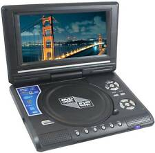 "7.8"" 3D PORTABLE LAPTOP EVD/DVD PLAYER, LED TV TUNER, USB CARD READER, GAME"