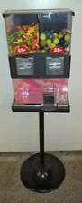 Vintage Capsule Vending Machine 25 Cent Vend With Candycapsules Amp Key