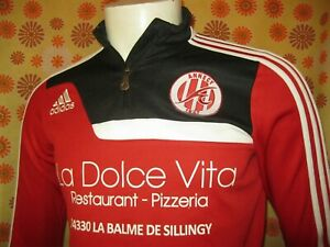 Détails sur Ancien SWEAT A ZIP ADIDAS FOOTBALL CLUB FC ANNECY T14 S Maillot Veste Jogging