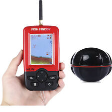 Outlife Portable Smart Fish Finder + Wireless Sonar Sensor for Lake Sea Fishing