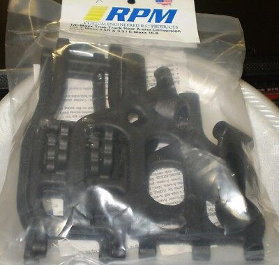 RPM T//E-Maxx TMAXX EMAXX ARMS 2.5  2.5R 3.3 A-Arms BLUE 80465 NEW NIP