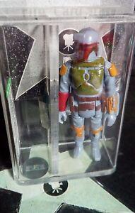 1979-Kenner-Star-Wars-BOBA-FETT-AFA-80-Jango-Fett-Sketch-ACEO-Card