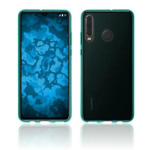 Details about Case for Huawei P30 Lite TPU Cover transparent Cover turquoise