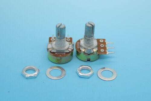 10 x B500K 500K Ohm Linear Taper MINI Potentiometer Pot