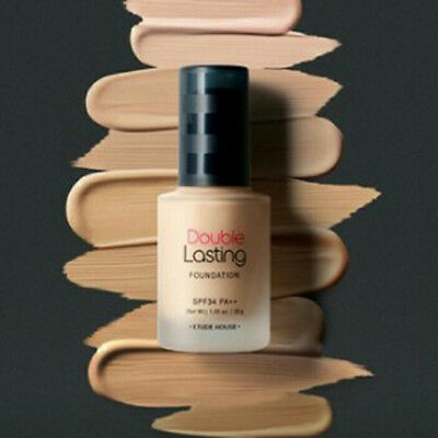 [Etude House] Korea Cosmetic Double Lasting Foundation SPF34 PA+++ 30g