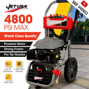 【EXTRA20%OFF】Jet-USA 4800PSI Petrol-Powered High Pressure Cleaner Washer