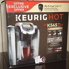 Keurig 2.0 K545 Plus K-Cup Machine Coffee Maker Brewing System K525 K575 Series