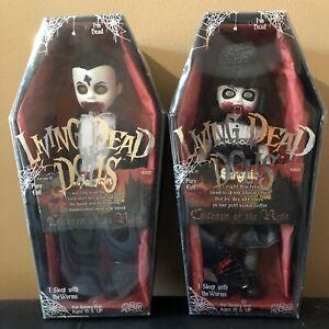 Living-dead-dolls-Sanguis-and-raemon-season-19-93512-and-93513-Mezco-Toyz