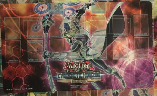 YUGIOH CYBERNETIC HORIZON SNEAK PEAK PLAYMAT MAT CYBERSE MAGICIAN