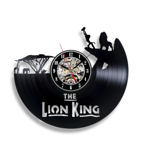 König der Löwen Vinyl Wanduhr Simba Tier Baby Dekor Disney Karikatur