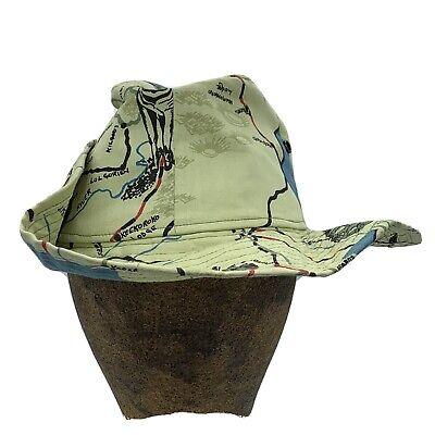 waterproof fabric multicolored hat Wide-brimmed hat