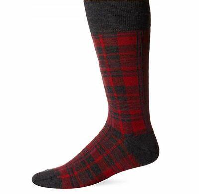 BOSS HUGO BOSS Mens RS Dot Dress Sock 10-13 red