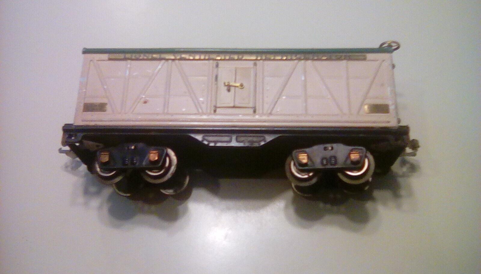 Lionel prewar 514R toy train metal refrigerator car standard gauge