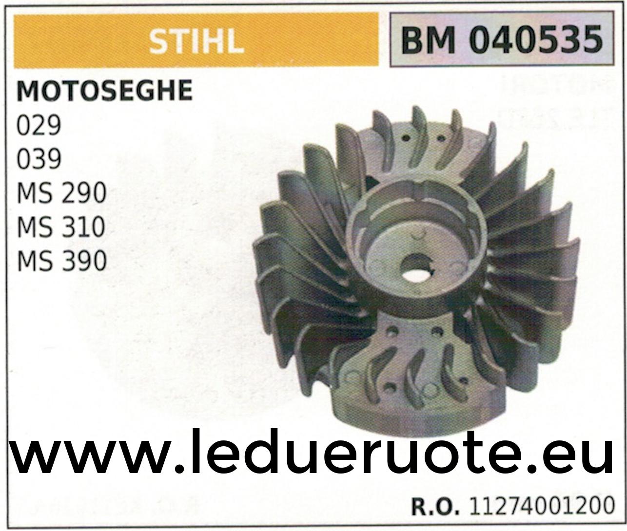 11274001200 VOLANO MAGNETICO magnete vento MOTOSEGA STIHL 029 039 MS 290 310 390