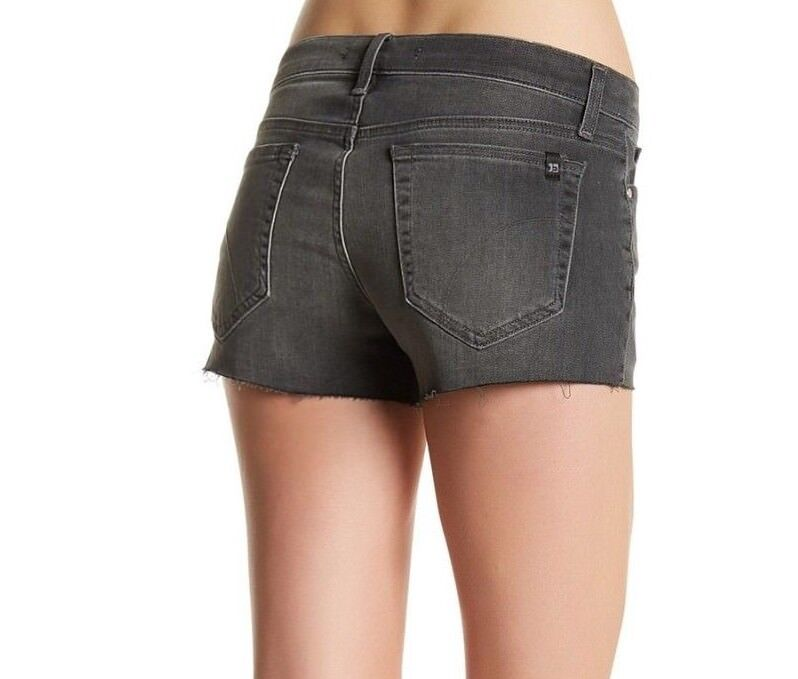148 NWT JOE'S Sz24 CUT OFF MIDRISE STRECH SHORT IN EASTON GREY