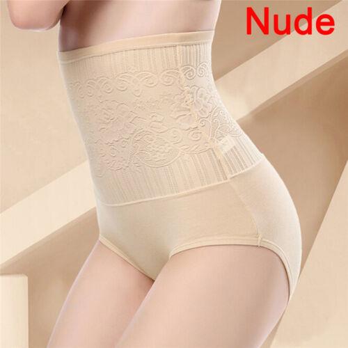 Women Tummy Control Lace High Waist Body Shaping Panties Shapewear Underwear、FO