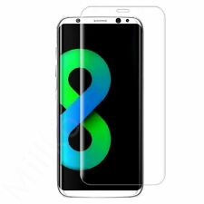 New Samsung Galaxy S8 2017 G950F Curved TPU Full Screen Protector Ultra Clear +