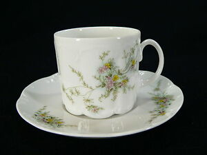 Rosenthal-Monbijou-gruene-Ranke-Kaffeegedeck-2tlg