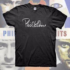 PHIL COLLINS T-Shirt GENESIS Face Value Concert Tour Hall & Oates Book Vintage