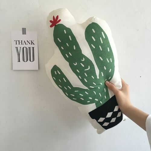2019 New Pineapple Cactus Food Snack Shape Plush Pillow Cushion Home Decor Party