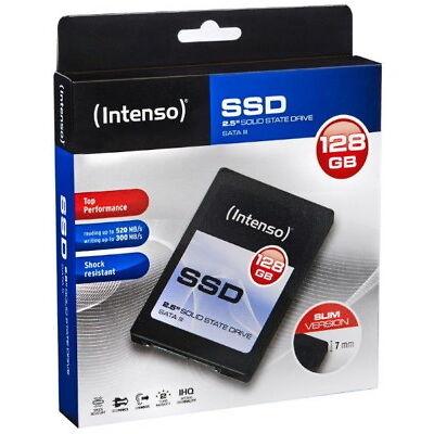 Intenso SSD interne Festplatte Top High-Speed MLC 2,5 Zoll 128GB SATA III