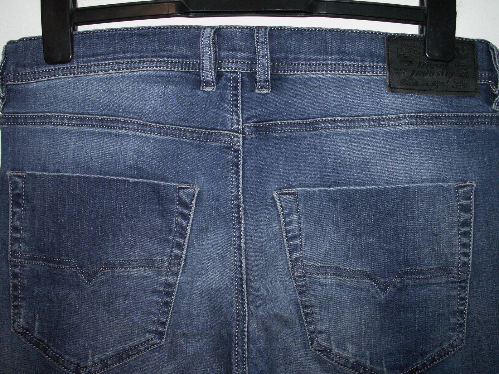 Diesel tepphar slim-carred fit jeans wash 0R605 stretch W31 L32 (a3799)