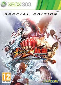 Street Fighter X Tekken Special Edition Xbox 360 Videospiel original UK Version