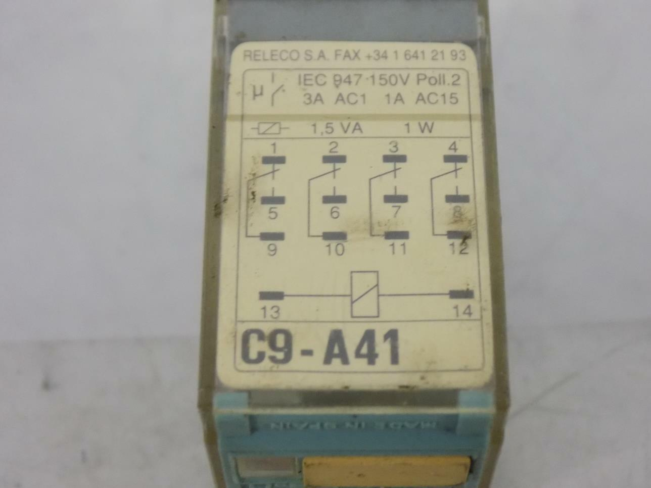Releco C9 A41 X Ac230v Relay Ebay Solid State