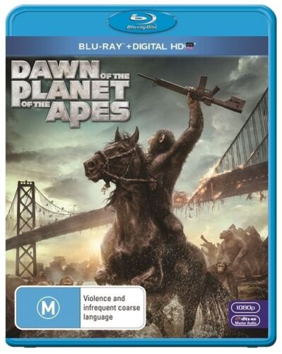 1 of 1 - Dawn Of The Planet Of The Apes (Blu-ray, 2014) New & Sealed