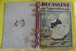 BECASSINE-EN-APPRENTISSAGE-EDITION-D-039-APRES-GUERRE-61-pages-1948