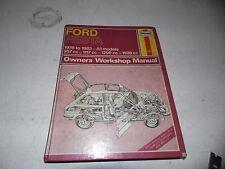 Ford Fiesta 1976-83 Owner's Workshop Manual (Haynes)