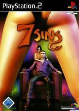 7 SINS per PS2 PLAYSTATION 2! Con custodia e manuale! seven