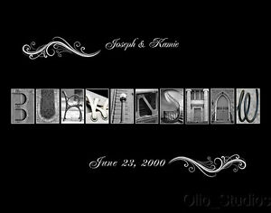 Personalized-Wedding-Name-Black-Background-Art-Print-Room-Decor-Unique-Gifts