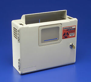 Sharps Needle Container Wall Mount Enclosure SharpSafety Box Only 85161H