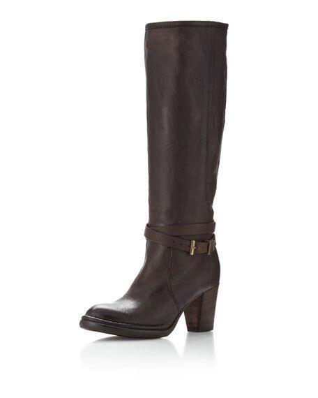 vendite online Alberto Fermani Ankle-Strap Knee avvio, T Moro Marrone Dimensione 36 36 36 US 6  prezzo all'ingrosso