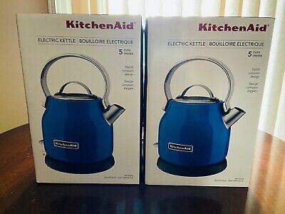 New KitchenAid Stainless Steel 1.25L Electric Kettle KEK1222TB Twilight Blue