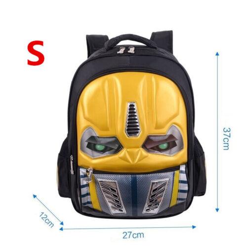 UK Personalised School Bag Transformers Children Multifunction Backpack Rucksack