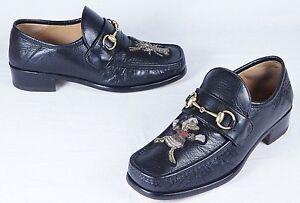 18912cf9d5e GUCCI x Disney Horsebit leather loafer with appliqués (Mens 8UK 8.5 ...