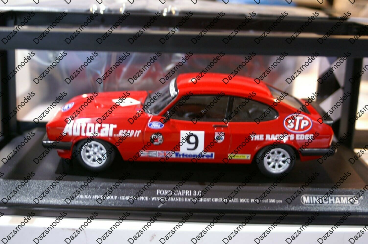 MINICHAMPS FORD CAPRI Brands Hatch 1978 G. Spice en 1 18 788609