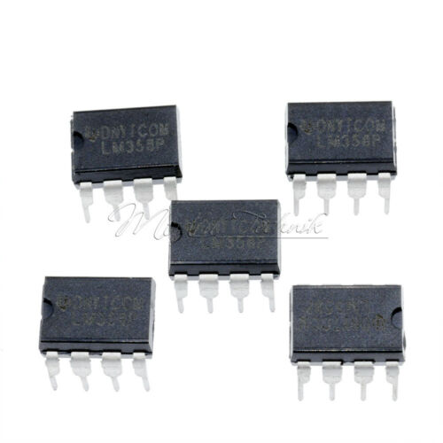 100PCS LM358P LM358N LM358 DIP-8 OPERATIONAL AMPLIFIERS IC TOP