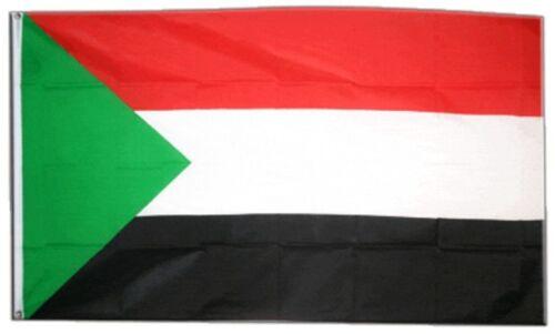 Bandiera Sudan bandiera sudanese hissflagge 90x150cm