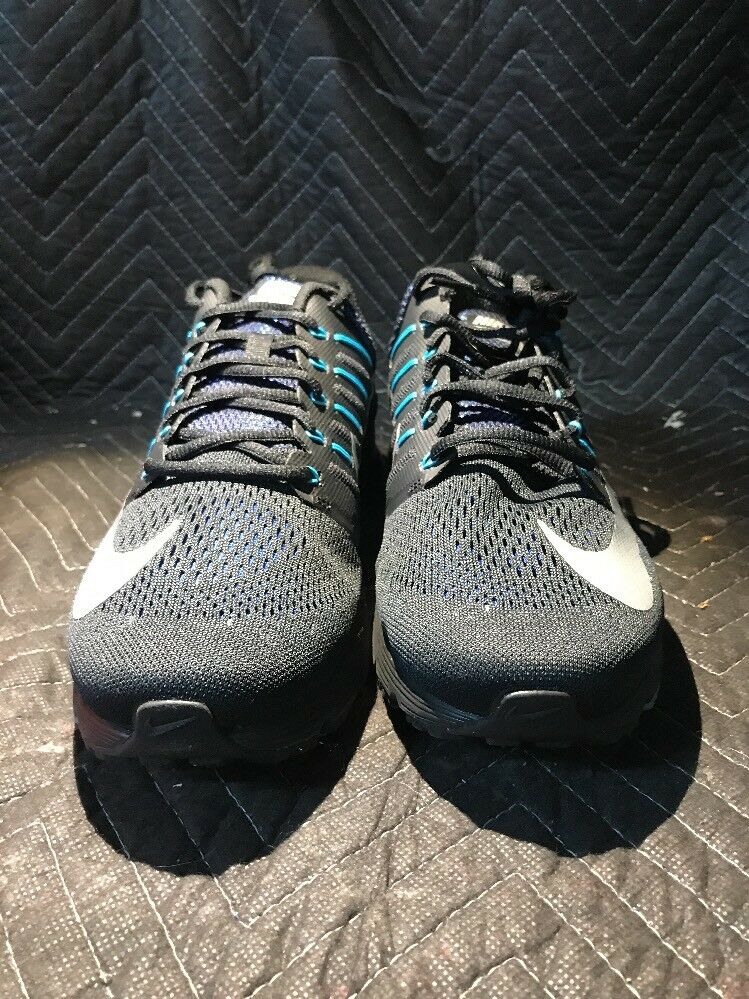 Air Max Excellerate 4 PRM Black And Blue Nike Size 13