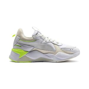 Details about New Puma RS-X Tracks White/Whisper White Sneakers Running  Shoes 369332 04